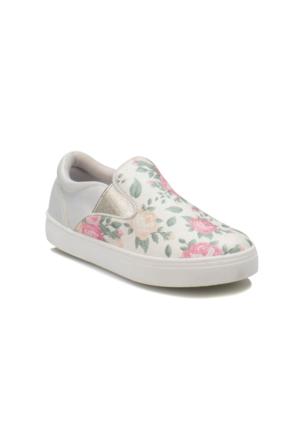 Seventeen G-C16769 Yeşil Kız Çocuk Slip On Ayakkabı