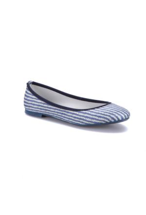 Miss F Ds17001 Mavi Kadın Babet