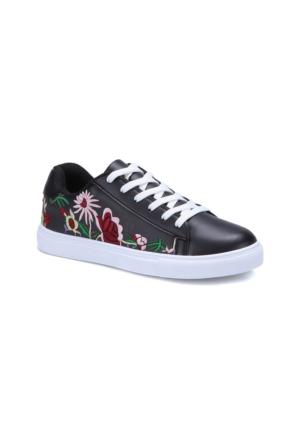 Art Bella U1300 Siyah Kadın Sneaker Ayakkabı
