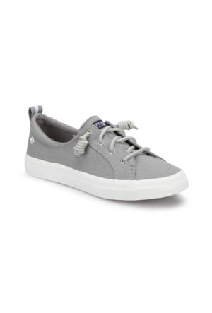 Sperry Top Sider Crest Vıbe Lınen Gri Kadın Sneaker Ayakkabı