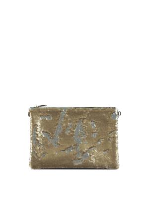 Marjin Sorin Portföy Çanta Altın Pul