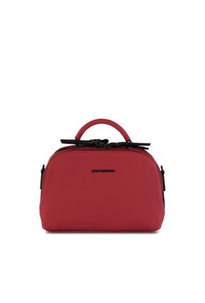 Marjin Daron Postacı Çanta Kırmızı