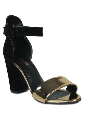 Loggalin 580006 031 721 Kadın Altın Sandalet