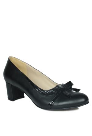 Loggalin 375008 031 025 Kadın Siyah Ayakkabı