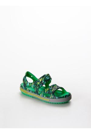Crocs Crocband Iı Graphıc Sandal Kız Çocuk 204474 204474.Grgr