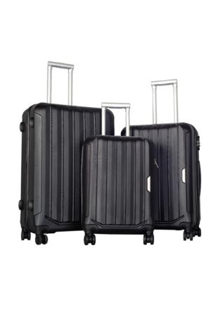 Bese Polycarbonate Valiz Seti BS10594-Set Siyah