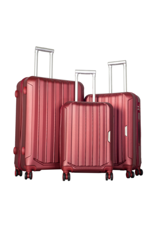 Bese Polycarbonate Valiz Seti BS10594-Set Kiremit