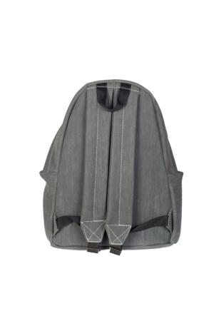 Fanucci Poliüretan Sırt Çantası SGSRT9000-9 Gri