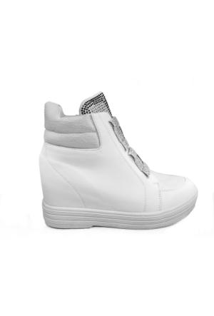 Guja Kadın Spor Günlük Tarz Gizli Topuklu Ayakkabı 17Y365 01
