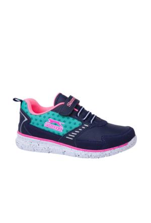 Slazenger Fena Lacivert Yeşil Erkek Çocuk Yürüyüş Ayakkabısı