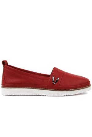 Sail Lakers Estile Kırmızı Kadın Ayakkabı