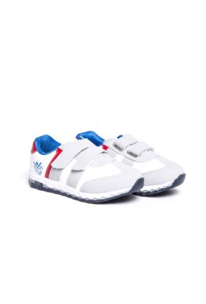 LC WAIKIKI Erkek Çocuk Cırt Cırt Detaylı Spor Ayakkabı