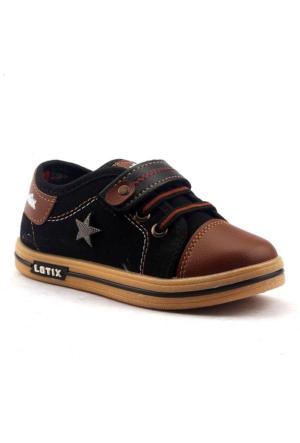 Lotix 14 Keten Günlük Cırtlı Erkek Çocuk Spor Ayakkabı