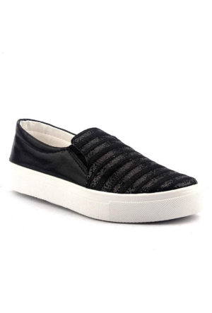 Kettow Günlük Simli Yürüyüş Keten Bayan Rahat Ayakkabı