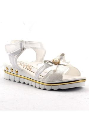 Jasmine 360 Günlük Cırtlı Abiye Kız Çocuk Yazlık Sandalet Ayakkabı