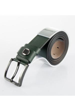 DeepSEA Koyu Yeşil Tokası İşlemeli Taşlı Spor Erkek Kemer 1701330-85