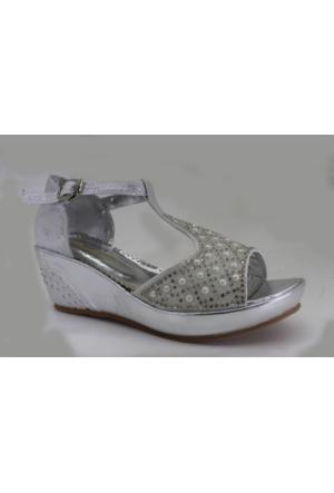 Minican F105 Günlük Kız ÇocukTopuklu Abiye Ayakkabı
