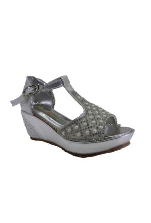 Minican P105 Günlük Kız Çocuk Topuklu Abiye Ayakkabı