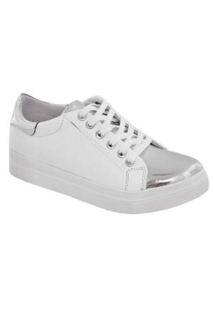 Tofima 1465 Bağcıklı Ayakkabı Beyaz
