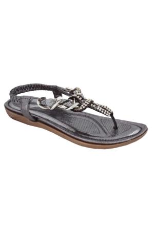 Guja 17Y414 Kadın Parmak Arası Sandalet Bronz