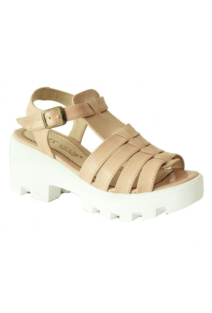 Sms 3164 Kadın Ayakkabı Pudra