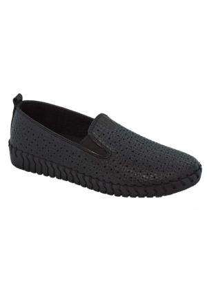 Tofima 4110 Kadın Günlük Delikli Ayakkabı Siyah