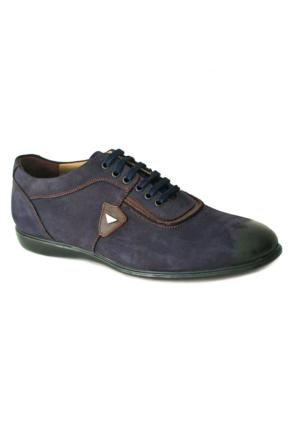 Bala 418 Deri Erkek Ayakkabı Lacıvert