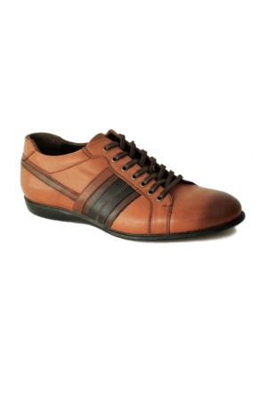 Bala 421 Deri Erkek Ayakkabı Taba