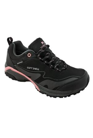 Lumberjack Fest A3373320 Waterproof Kadın Ayakkabı Siyah