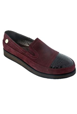 Mammamia D16Ka-3035 Kadın Günlük Ayakkabı Bordo
