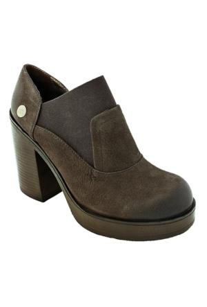 Mammamia D16Ka-870 Nubuk Kadın Günlük Ayakkabı Kahve