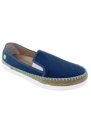 Mammamia D16Ya-700 Deri Günlük Ayakkabı Koyu Mavı