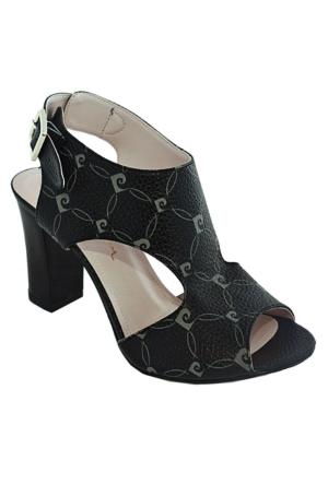 Pierre Cardin 1026 Topuklu Kadın Ayakkabı Siyah