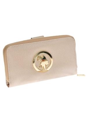 U.S. Polo Assn. 7468 Kadın Cüzdan Altın