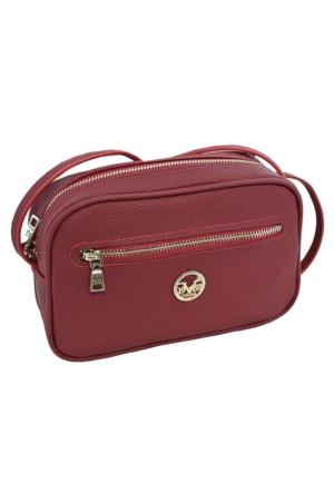Versace 19.69 9118 Kadın Omuz Çanta Kırmızı