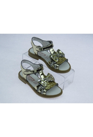 Swety Kız Çocuk Kurdele Simli Sandalet