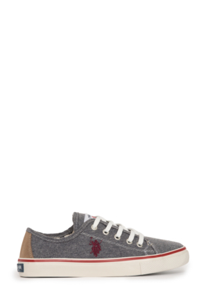 U.S. Polo Assn. Kadın Harper-Int Sneaker Ayakkabı Füme