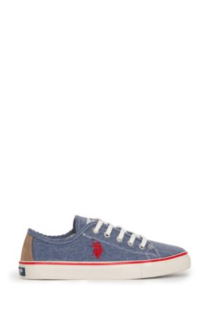 U.S. Polo Assn. Kadın Harper-Int Sneaker Ayakkabı Lacivert