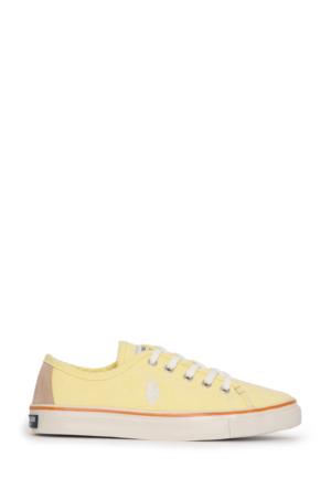 U.S. Polo Assn. Kadın Harper-Int Sneaker Ayakkabı Sarı