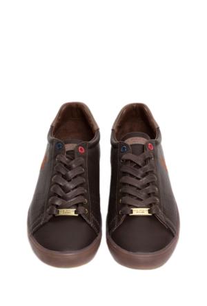 U.S. Polo Assn. Erkek K5Larkin1 Ayakkabı Kahverengi