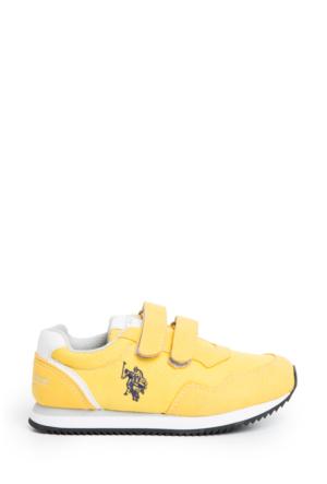 U.S. Polo Assn. Erkek Çocuk Y6Nandy Spor Ayakkabı Sarı