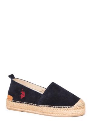 U.S. Polo Assn. Kadın Y7Alisia Espadril Ayakkabı Lacivert