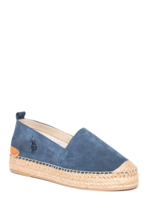 U.S. Polo Assn. Kadın Y7Alisia Espadril Ayakkabı Mavi
