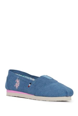 U.S. Polo Assn. Kız Çocuk Y7Dapne Ayakkabı Mavi
