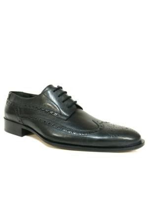 Burç Bc432 Siyah Klasik Abiye Erkek Ayakkabı