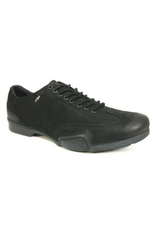 Mcp 45521 Siyah Crazy Deri Casual Ayakkabı