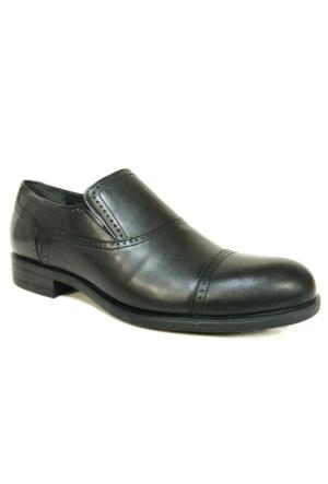 Mcp 45574 Siyah Bağcıksız Günlük Klasik Ayakkabı