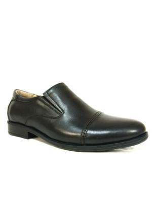 Punto 632341 Siyah Bağcıksız Comfort Erkek Ayakkabı