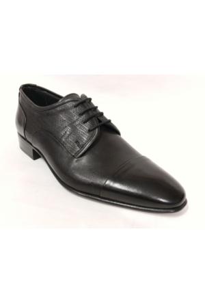 Punto 647078 Siyah Bağcıklı Erkek Ayakkabı