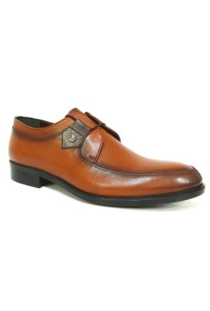 Punto 647246 Taba Kahve Bağcıklı Erkek Ayakkabı